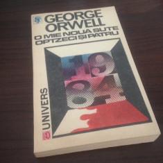 GEORGE ORWELL, O MIE NOUA SUTE OPTZECI SI PATRU