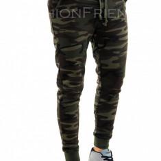 Pantaloni de trening camuflaj - COLECTIE NOUA - pantaloni barbati - 7794, Marime: L, XL, XXL, Culoare: Din imagine