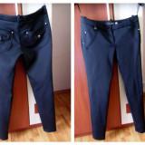 Pantaloni tip colanti - Pantaloni dama, Marime: S, Culoare: Negru