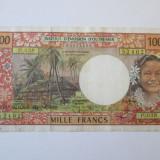 Rara! Tahiti 1000 Francs 1985 nedatata