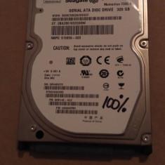Hard Disk / HDD SATA SEAGATE MOMENTUS 320GB 100% HEALTH 7200RPM Laptop - HDD laptop Western Digital, 300-499 GB