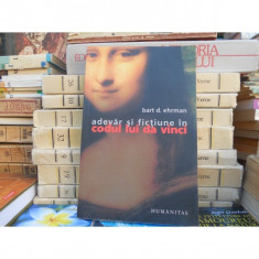 Adevar si fictiune in codul lui Da Vinci, Bart D. Ehrman