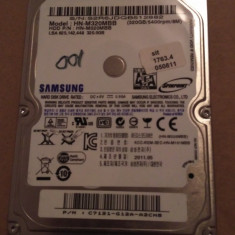 Hard Disk / HDD SATA SAMSUNG 320GB 100% HEALTH Laptop - HDD laptop Samsung, 300-499 GB, Rotatii: 5400