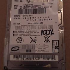 Hard Disk / HDD SATA FUJITSU 80GB 100% HEALTH Laptop