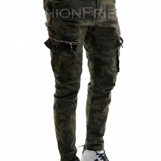 Pantaloni camuflaj - COLECTIE NOUA - pantaloni barbati - 7793G1, Marime: 29, 32, 34, Culoare: Din imagine