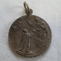 RARA Medalie aniversara INCORONARE Imparat FRANT IOSIF 1915 piesa de Colectie - Decoratie