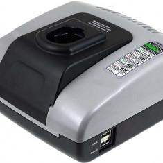 Incarcator acumulator (cu USB) pentru Dewalt DW987K2