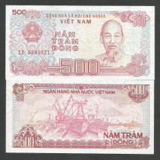VIETNAM 500 DONG 1988 UNC [1] P-101a, necirculata - bancnota asia