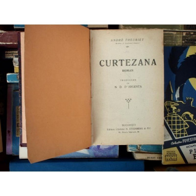 Curtezana , Andre Theuriet foto