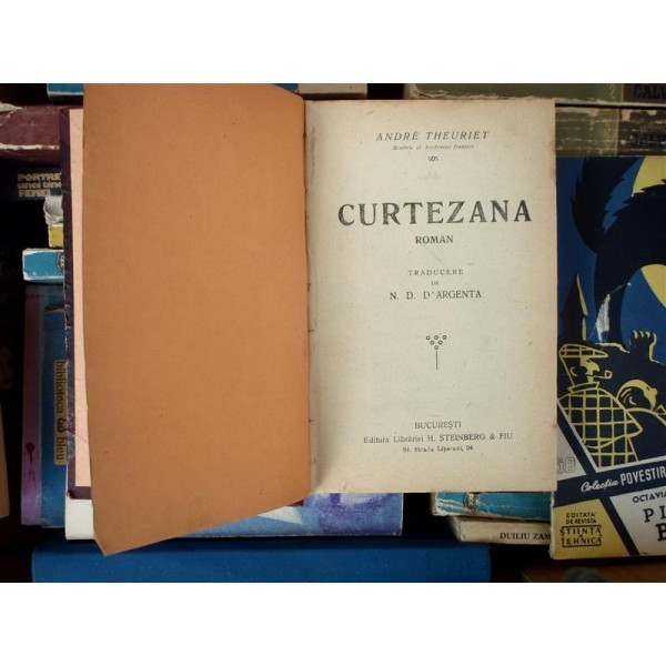 Curtezana , Andre Theuriet