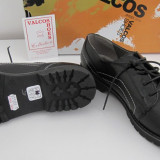 Pantofi dama din piele naturala, noi, mărimea 39, lichidare de stoc, Negru, Cu talpa joasa