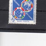 ROMANIA 1962, LP 542, AL VIII-lea FESTIVAL AL TINERETULUI - HELSINKI MNH - Timbre Romania, Nestampilat
