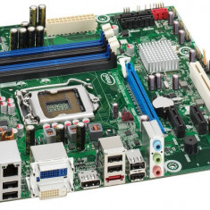 Placa de baza INTEL DQ57TM, DDR 3, SATA, Socket 1156 + Shield + Procesor Intel Core i5-650 3.20GHz