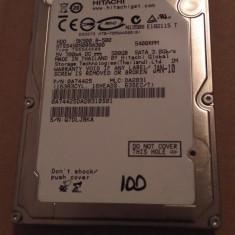 Hard Disk / HDD SATA HITACHI 500GB 100% HEALTH Laptop - HDD laptop Hitachi, 500-999 GB, Rotatii: 5400