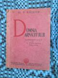 Al. P. HAJDEU - DOMNIA ARNAUTULUI (1936 - STARE FOARTE BUNA!!!)