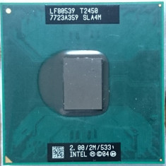 Procesor laptop T2450 SLA4M 2 GHz / 2 M cahe / FSB 533 socket M