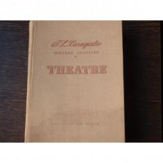 THEATRE - IL. CARAGIALE - Carte Teatru
