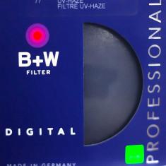 Vand filtru 77mm Clear B+W Schneider UV-HAZE Professional - Filtru video Schneider, 70-80 mm