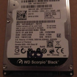 Hard Disk/HDD SATA WESTERN DIGITAL SCORPIO BLACK 160GB 100%HEALTH 7200RPM Laptop - HDD laptop Western Digital, 100-199 GB