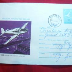 Plic ilustrat Aeronautica Romana - Avion IAR 823, cod 33/74