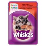 Hrana umeda pentru pisici Whiskas Junior, Vita, 100g