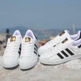 Adidasi Adidas Superstar - Adidasi barbati, Marime: 36, 37, 38, 39, 40, 41, 42, 43, 44, Culoare: Din imagine, Piele sintetica