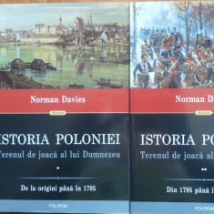Norman Davies, Istoria Poloniei ;Terenul de joaca al lui Dumnezeu, 2014, 2 vol. - Istorie