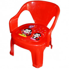 Scaunel bebe plastic cu desene - Masuta/scaun copii
