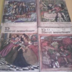 LOT 4 CARTI POVESTI NEMURITOARE NR.5, 10, 13, 22 EDITIE PERIOADA COMUNISTA - Carte de povesti