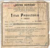 Cumpara ieftin Titlu provizoriu pentru actiuni ASTRA 1942