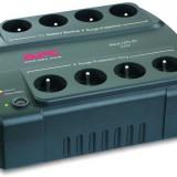 UPS APC Back-UPS ES 550 BE550-FR, 550VA, fara acumulator., Sub 1000 VA, Protectie supratensiune