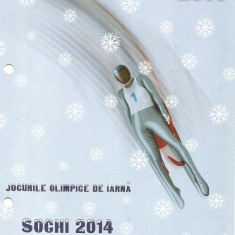 Pliant-Jocurile Olimpice de iarna SOCHI-2014