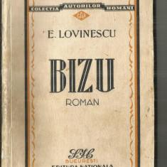 [A] BIZU - E.LOVINESCU - Carte poezie