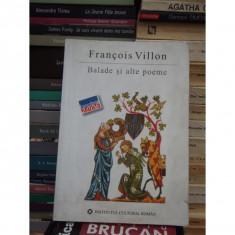 BALADE SI ALTE POEME, FRANCOIS VILLON - Carte in alte limbi straine