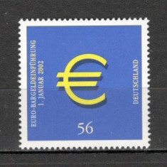 Germania.2002 Moneda si bancnota EURO SG.1102 - Timbre straine, Nestampilat