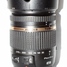 Obiectiv Tamron 18-270 mm f/3.5-6.3 Di II VC PZD - Canon + Filtru UV - Obiectiv DSLR