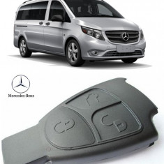 Carcasa Cheie Smart Mercedes Vito 2003-2015 (3 butoane)
