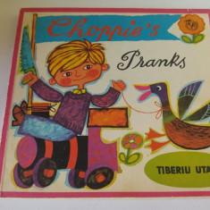 Choppie's Pranks (varianta in engleza a cartii Ciopirtila), Tiberiu Utan, 1982 - Carte Epoca de aur