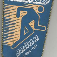 Fanion-CROSUL TINERETULUI-Braila 1987 - Fanion fotbal