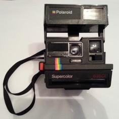 Polaroid 635 CL Supercolor aparat foto portabil instant land camera colectie rar - Aparat Foto cu Film Polaroid