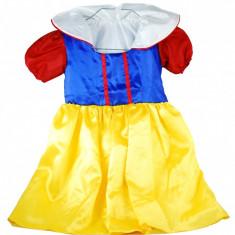 Rochita Alba ca Zapada costum pentru serbare fetite 2 - 4 ani