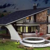 "Casa Superba la rosu - Craiova zona SellGross Cartier rezidential ""Casa Noastra"" - Casa de vanzare, 299 mp, Numar camere: 5, Suprafata teren: 1000"