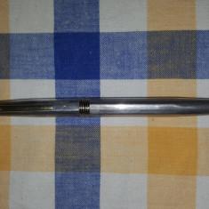 Stilou Altele jaguar argint masivsterling 925 si penita aur18k