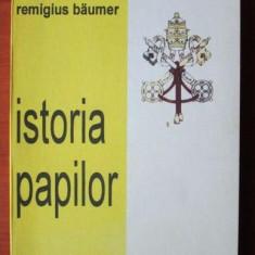 August Franzen - Istoria papilor