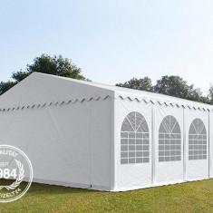 Cort profesional nunti 8x8 m prelata ignifuga, 2.6 m lateral, 8400 lei