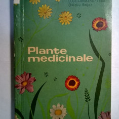 Gr. Constantinescu, O. Bojor – Plante medicinale