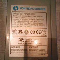 Sursa 235W Fortron buton Start-Stop L74, 250 Watt