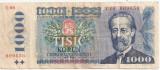 CEHOSLOVACIA 1000 KORUN COROANE 1985 F