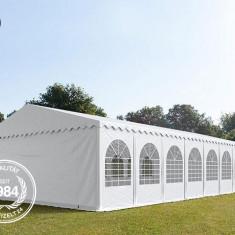 Cort profesional nunti 8x16 m, prelata ignifuga, 2.6 m inaltime laterala