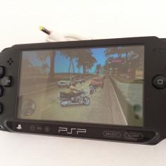 Consola joc PSP Sony Street E1004 modat GTA VICE CITY NFS Call of Duty PES Spongebob